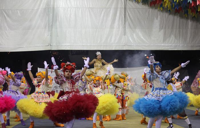 O espetáculo da Xotear retratou as narrativas populares do Estado do Ceará. Foto: Samuel Calado/DP