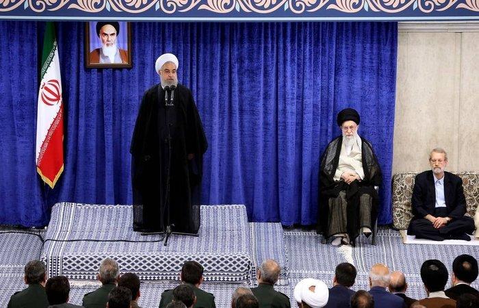 Irã anuncia a derrubada de drone estadunidense; na foto, o aiátola Ali Khamenei. Foto: AFP