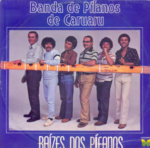 Capa do álbum Raízes dos Pífanos. Foto: Reprodução da Internet