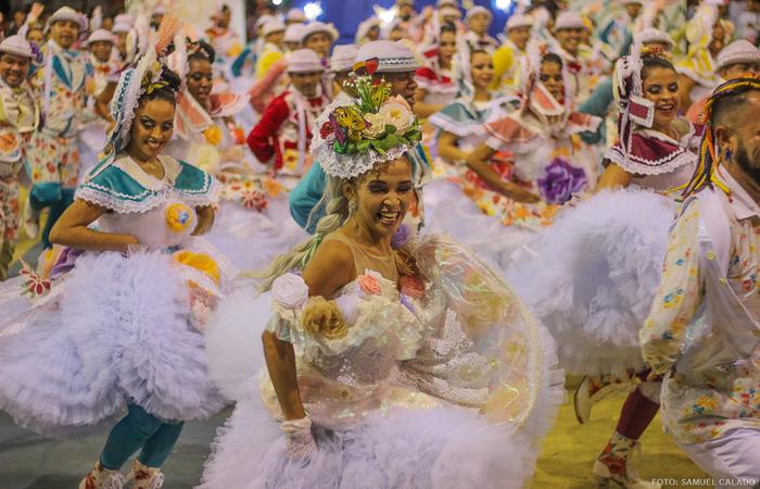 A Junina Traque de Massa é de Olinda, na Região Metropolitana do Recife. Foto: Samuel Calado/DP