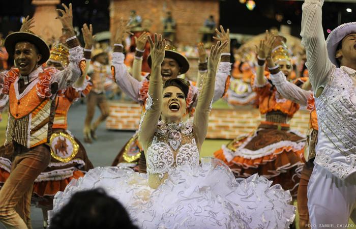 Junina Renascer, de Araçoiaba. Foto: Samuel Calado/DP
