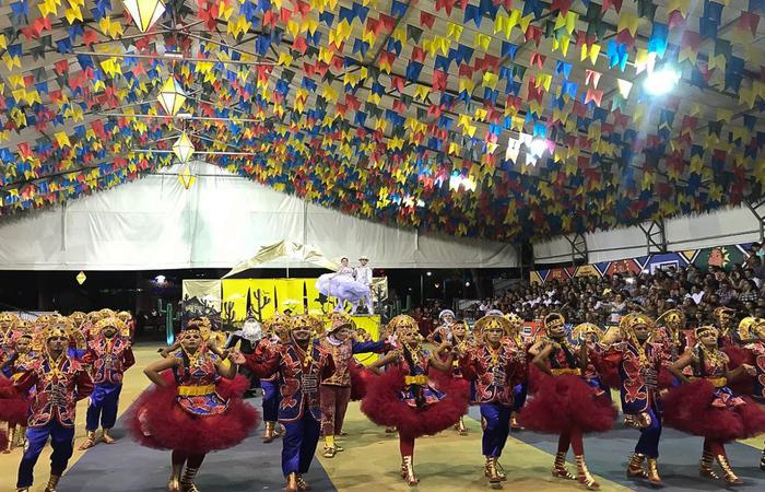União Junina, da cidade do Cabo de Santo Agostinho. Foto: Samuel Calado/DP