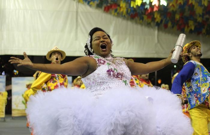 Junina Fulejo, de Jaboatão Centro. Foto: Samuel Calado/DP