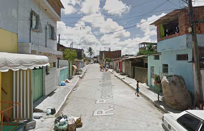 FOTO: Google/ Street View/ Reprodução (FOTO: Google/ Street View/ Reprodução)