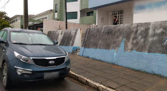 Empresas fornecedoras de medicamentos de Garanhuns são foco da operação nesta quinta-feira. Foto: divulgação/PF