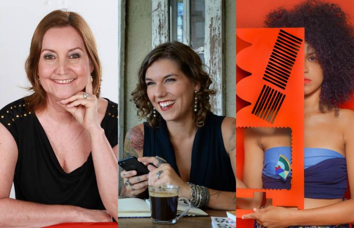 Cristina Ludgren, Anna Terra e Karla Barbosa estão entre as convidadas. Foto: Divulgação