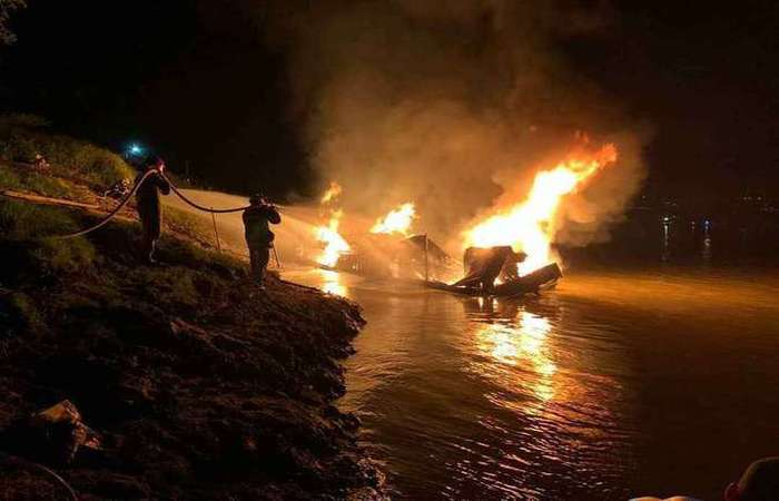 O acidente aconteceu em 7 de junho. Foto: Divulgação/Corpo de Bombeiros