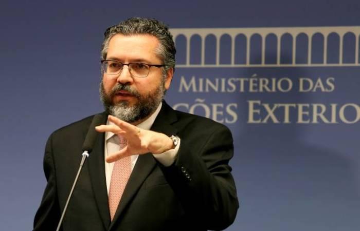 O ministro das Relações Exteriores do Brasil, Ernesto Araújo. Foto: Wilson Dias/Agência Brasil (Foto: Wilson Dias/Agência Brasil)