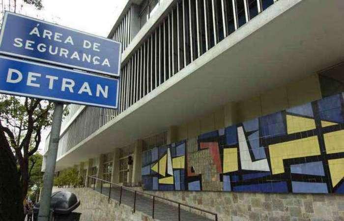 Prova era realizada na sede do Detran em Minas Gerais. Foto: Jair Amaral/EM/D.A Press