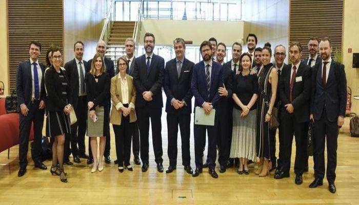 Delegação brasileira em Bruxelas para o fechamento do acordo de livre comércio entre Mercosul e União Europeia. Foto: Ministério das Relações Exteriores (Foto: Ministério das Relações Exteriores)