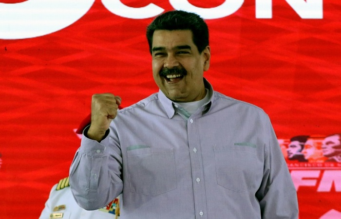 FOTO: Venezuelan Presidency/AFP / HO  (FOTO: Venezuelan Presidency/AFP / HO )