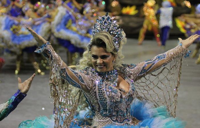 A quadrilheira Vanessa Ribeiro está no grupo há 14 anos. Foto: Samuel Calado/DP