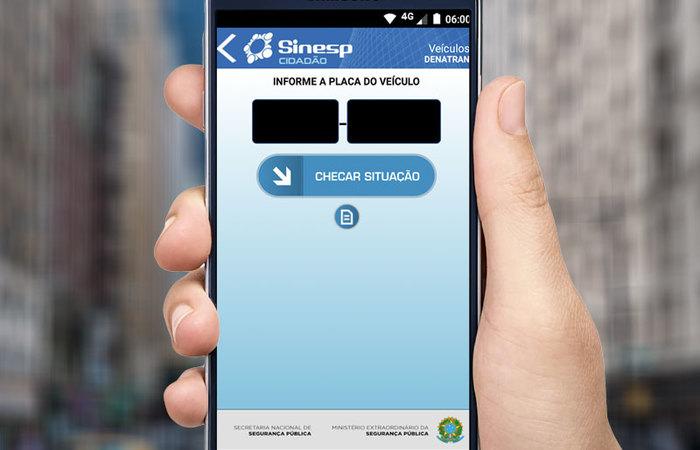 O Sinesp (Sistema Nacional de Informações da Segurança Pública) foi citado por Moro, ministro da Justiça, em rede social em junho. Foto: Reprodução/Internet (Foto: Reprodução/Internet)