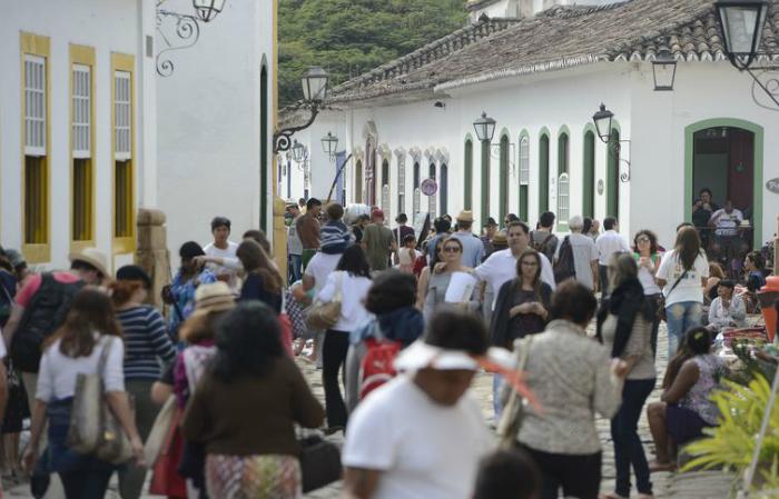 Foto de edição anterior da Flip. Foto: Tomaz Silva/Arquivo/Agência Brasil