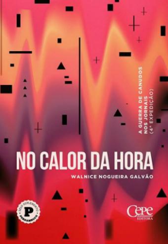 Capa do livro no Calor da Hora. Foto: Cepe/Divulgação