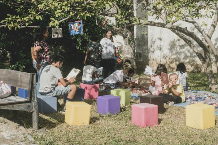 Evento precisa de doações para acontecer. Foto: Thamyres Oliveira/Divulgação.