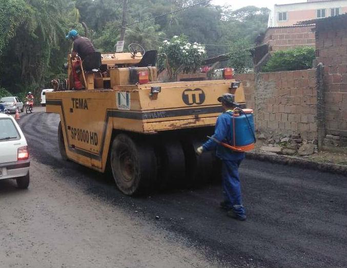 Os valores recebidos podem ser utilizados na pavimentação de ruas, por exemplo. Foto: Divulgação / PMO