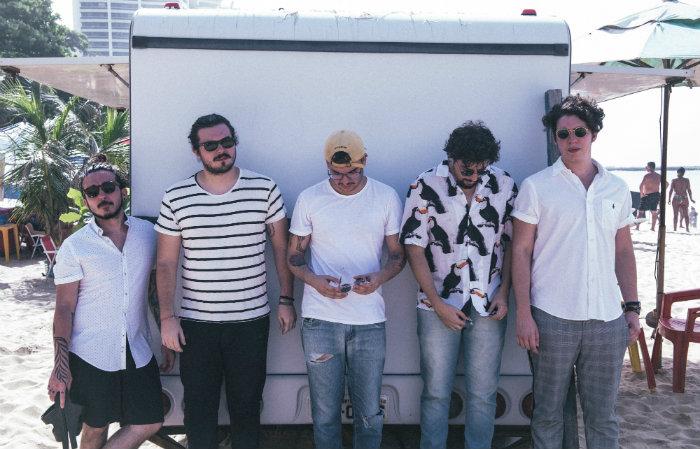 Primeiro show da banda Indigo Mood no Recife. Foto: Luiz Mendes/Divulgação