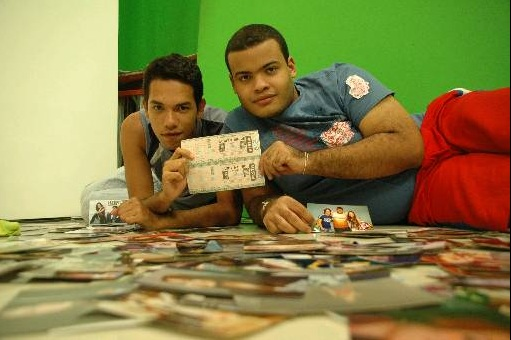 Elcio Lima e Rodrigo Henrique, em foto para reportagem do Diario de Pernambuco em 2007. Foto:  Juliana Leitao/DP