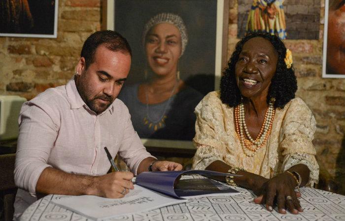 Lia e Marcelo Henrique Andrade. Foto: Ytallo Barreto/Divulgação
