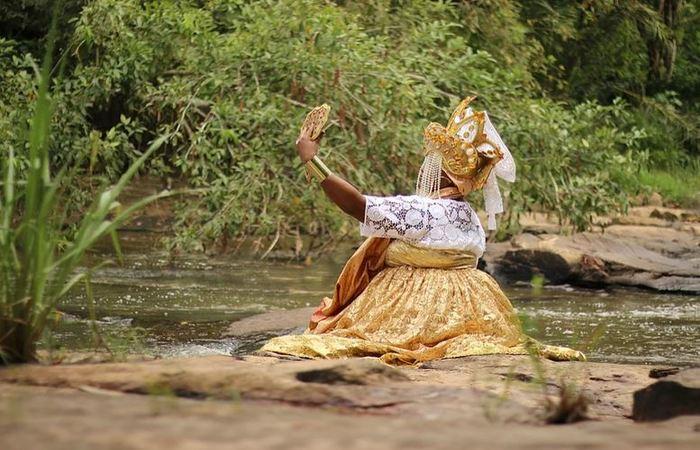 Dandalunda é a divindade patrona do Afoxé. Foto: Samuel Calado/DP