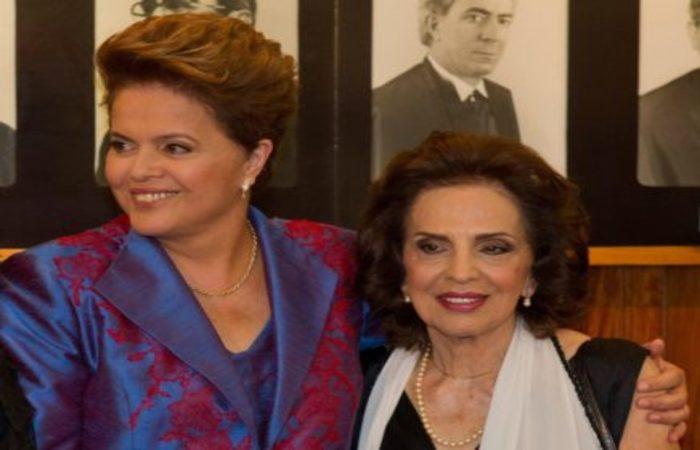 Enquanto a filha esteve na Presidência, Dilma Jane morou no Palácio da Alvorada, em Brasília. Foto: Reprodução (Enquanto a filha esteve na Presidência, Dilma Jane morou no Palácio da Alvorada, em Brasília. Foto: Reprodução)