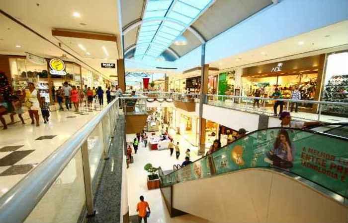 O faturamento do setor de shopping centers cresceu 6,5% em 2018. Foto: Paulo Paiva/DP (O faturamento do setor de shopping centers cresceu 6,5% em 2018. Foto: Paulo Paiva/DP)