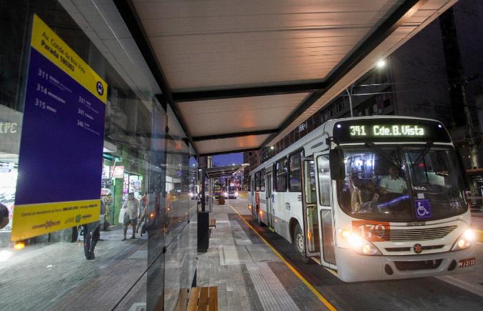 Paradas de ônibus foram inteiramente reformuladas - Bruna Costa/Esp. DP