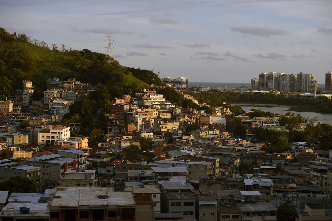 Exploração imobiliária clandestina na comunidade da Muzema e nos arredores. Foto: Fernando Frazão/Agência Brasil