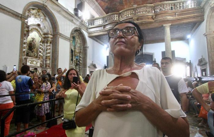 Célia Monteiro: conforto na fé para suportar a perda da mãe - Bruna Costa/Esp. DP