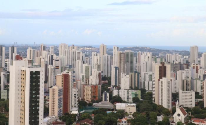 São mais de mil unidades com preços que vão de R$ 280 mil a R$ 3,5 mi. Foto: Gabriel Melo / Esp. DP