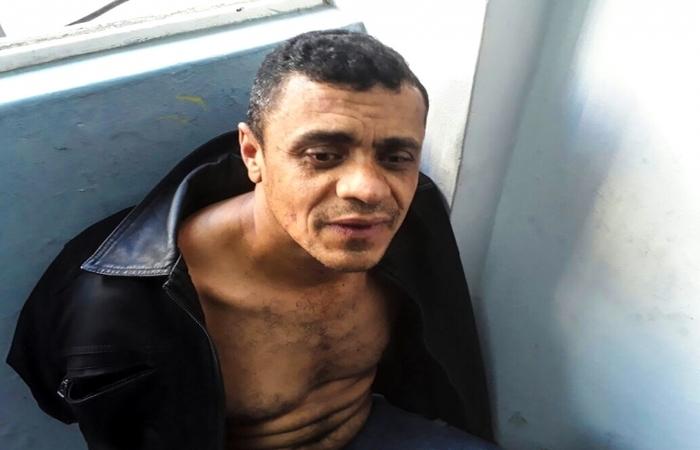Adélio Bispo segue preso no presídio federal de Campo Grande (MS). Foto: PM-MG/Divulgação  (Foto: PM-MG/Divulgação )