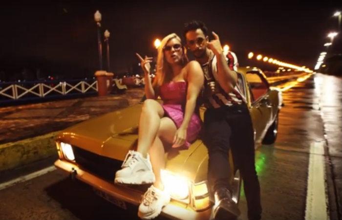 Corpo em brasa é o novo single do pernambucano Romero Ferro com parceria da conterrânea Duda Beat. Foto: Youtube/Reprodução.