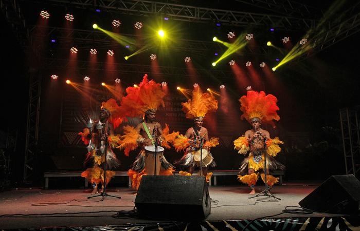 Apresentação do Carijós no Carnaval. Foto: Roberto Ramos/DP