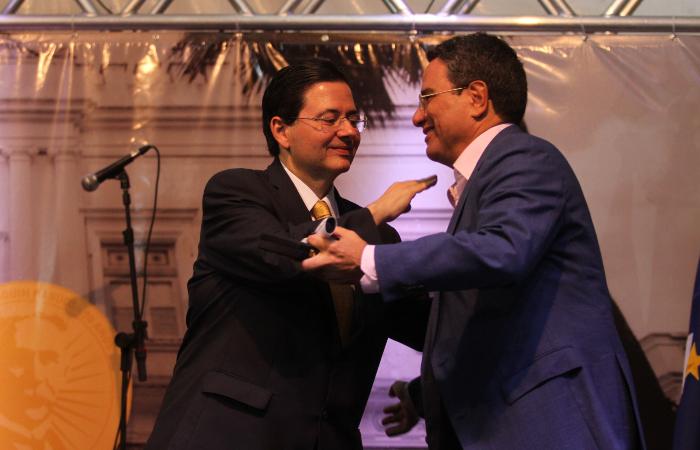 O presidente do Diario de Pernambuco, Alexandre Rands, foi um dos homenageados - Peu Ricardo/DP