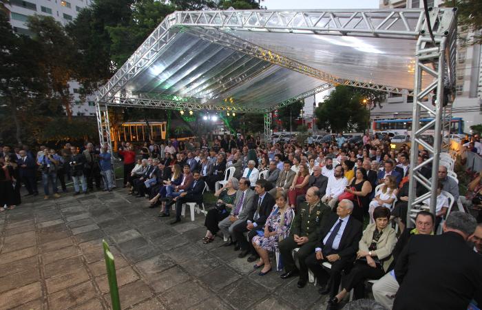 Solenidade aconteceu no jardim do Museu do Homem do Nordeste, em Casa Forte - Peu Ricardo/DP