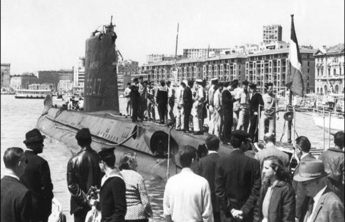 O submarino 'La Minerve'. Foto: AFP.