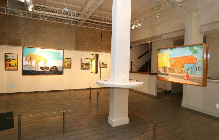 A galeria faz parte da história de ebulição cultural do bairro do Recife Antigo. Foto: Nando Chiappetta/Divulgação