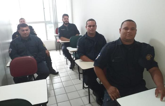 Guardas municipais começaram treinamento nesta terça (23) - Divulgação/Prefeitura de Olinda