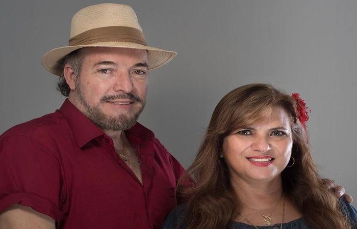 Casal Nicolas Ramanush e Ingrid Ramanush Foto: Horst Lambert/Divulgação