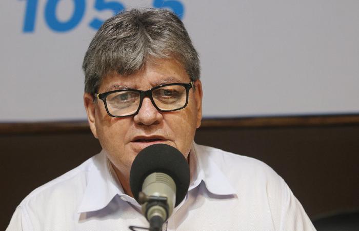 """""""Não vou descer a esse nível"""", disse o governador João Azevêdo - Francisco França/Secom-PB"""