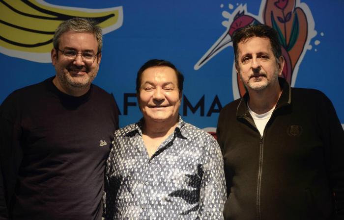 Gilberto Freyre Neto, Isaías Régis e Marcelo Canuto. Foto: Fundarpe