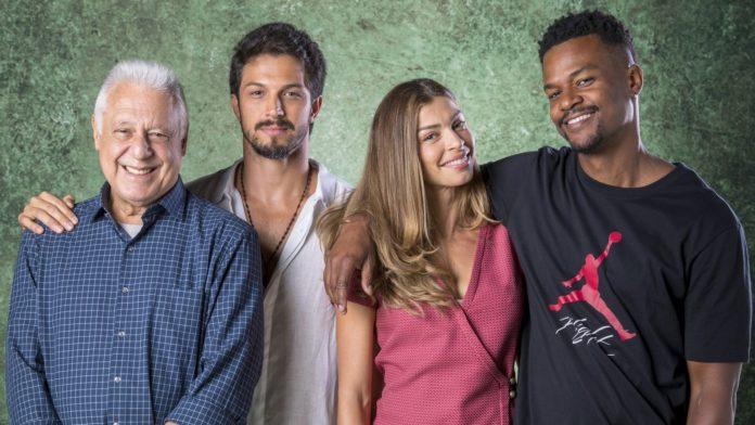 Os protagonistas da novela são Alberto, Marcos, Paloma e Ramon. Foto: João Cotta/Globo