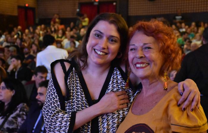 Derby Brennand e Katia Mesel. Foto: Felipe Souto Maior/Divulgação