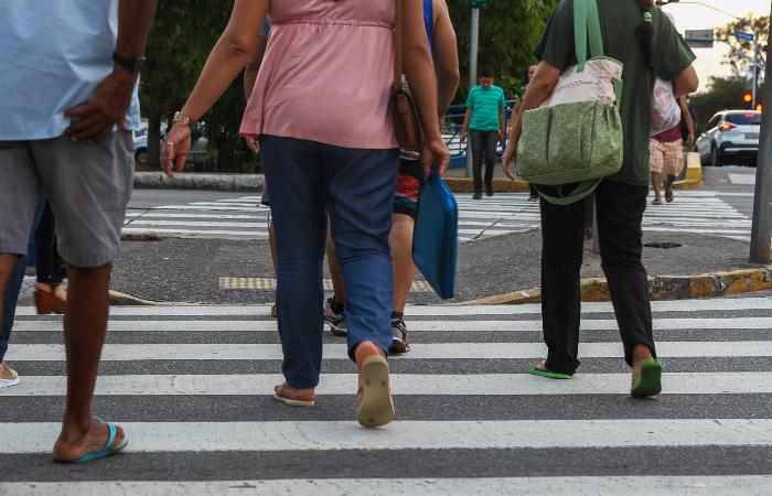Desde 2015, Recife aparece no ranking das 5 capitais onde há mais registros de mortes de pedestres - Foto: Bruna Costa/Esp. DP