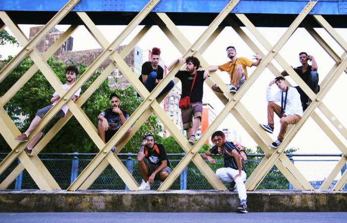 Clipe tem cenas gravadas na Ponte da Boa Vista. Foto: Pedro Leão/Divulgação