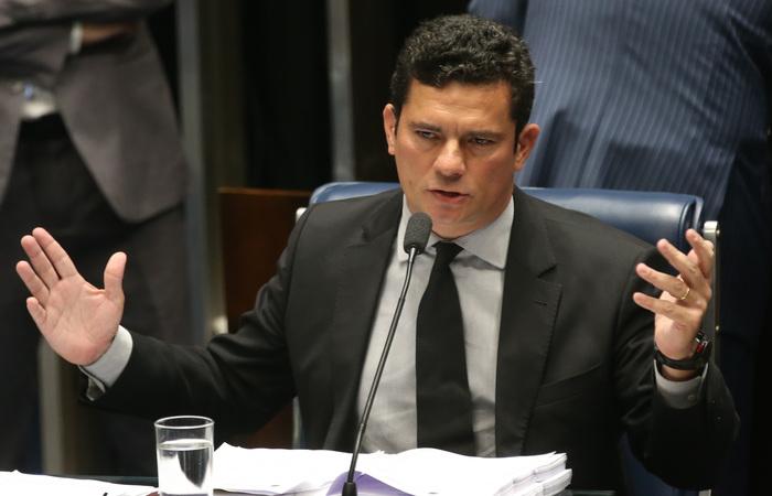 """Na peça, Moro afirma que a PGR deve solicitar as informações necessárias para """"responsabilização"""" do presidente da entidade. Foto: Antonio Cruz/Agência Brasil (Foto: Antonio Cruz/Agência Brasil)"""