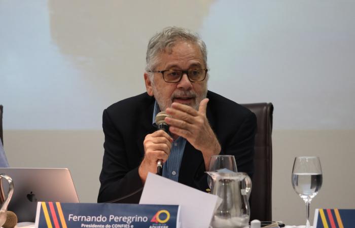 """Crítico do Future-se, o presidente do Confies, Fernando Peregrino, chegou a adjetivar o programa de """"Passade-se"""" - Foto: Tarciso Augusto/Esp. DP"""