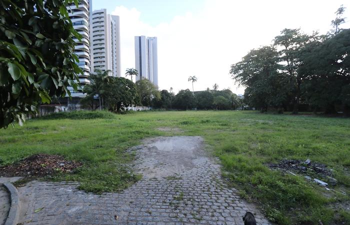 População não foi consultada e quer um parque no terreno. Foto: Tarciso Augusto/Esp. DP Foto.