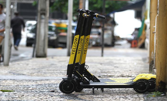 Redução do custo do patinete com nova fábrica pode influenciar no retorno. Foto: Bruna Costa / Esp. DP FOTO